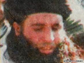 A newspaper mughshot photo purporting to be of Maulana Fazlullah.