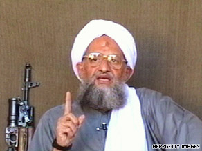 Footage from a January 6, 2006, al-Jazeera  broadcast shows al Qaeda number two Ayman al-Zawahiri.