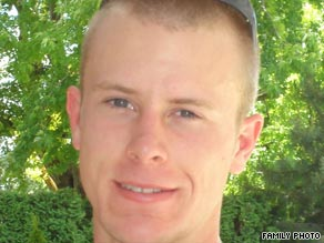 Bowe Bergdahl, from Ketchum, Idaho, is seen in photo provided by his family.