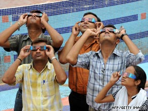 Indian astronomy researcher Debiprosad Duari discusses the upcoming eclipse in Calcutta, India.