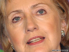 Hillary Clinton says North Korea's refusal to discuss nuclear program could provoke arms race.
