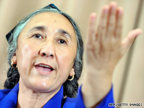 "Rebiya Kadeer has been dubbed ""the Mother of All Uyghurs."""
