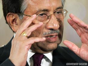 Pakistan's Supreme Court says former President Pervez Musharraf's moves were illegal.
