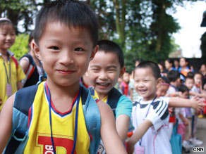 For about $880, Chinese parents can sign their kids up for the test and five days of camp.