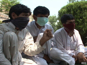 These boys say they were kidnapped by the Taliban and trained to be suicide bombers.