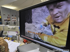 The plight of Sam the Koala became a huge hit on video-sharing Web site YouTube.