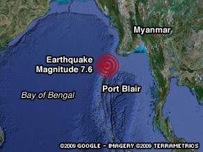 A tsunami watch in effect after an earthquake in the Indian Ocean has been called off.