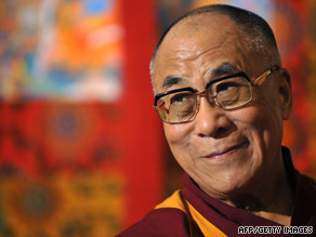 The Dalai Lama's visit to Taiwan could anger China, which accuses him of advocating independence for Tibet.