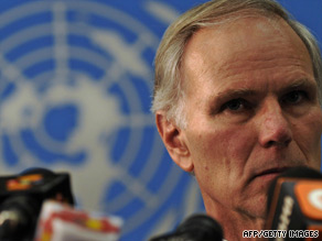 "U.N. special representative Philip Alston called the images ""horrendous."""
