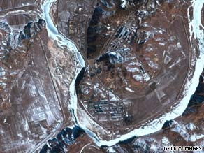The Yongbyon nuclear facility, home of North Korea's nuclear program.