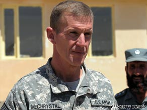 Gen. Stanley McChrystal has announced who will lead the probe into the NATO airstrike.