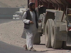 Trucker Mohammed Qasim takes his fuel tanker down Afghanistan's Highway 1 once a week.