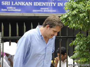 James Elder, spokesman for UNICEF in Sri Lanka has until September 21 to leave the country.