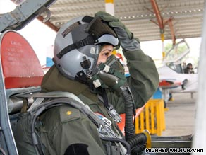 Seven Pakistani women are trained to fly the country&#39;s F-7 fighter jets -- though none have seen combat so far.