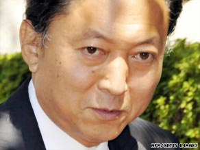 Yukio Hatoyama has criticized what he said was his predecessor's pro-United States stance.