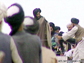 A message from Mullah Mohammed Omar, seen here in 1996, appears on a Web site the Taliban frequently uses.