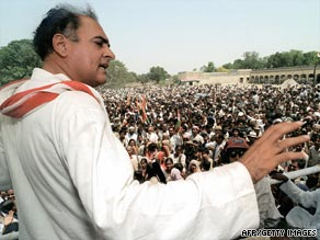 A plotter in the death of Rajiv Gandhi has begun a hunger strike to seek early release from jail.