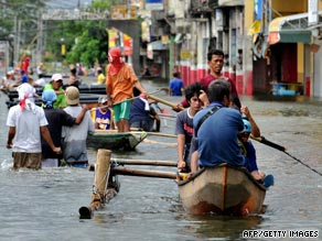 At least 15 dead as typhoon whips Philippines