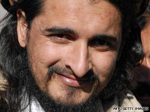 File picture taken on November 26, 2008 of Pakistani Taliban commander Hakimullah Mehsud