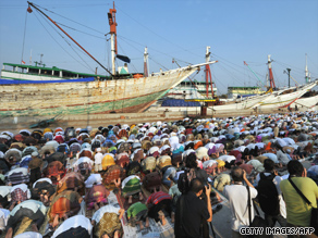 Nearly two out of three of the world's Muslims are in Asia, stretching from Turkey to Indonesia.