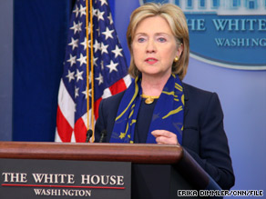 Hillary Clinton lauds the president&#039;s patience and persistence while deciding about troop strength.