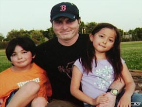 Christopher Savoie was jailed in Japan after trying to get kids back from their mother.