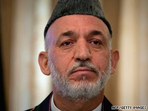 Afghan President Hamid Karzai failed to score a first round win in August's election.