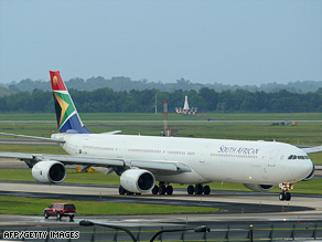 South African Airways said it has a zero-tolerance approach towards any criminal activity.