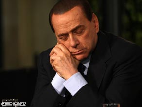 In 2008 Berlusconi claimed right-wing female politicians were better looking than their left-wing counterparts.