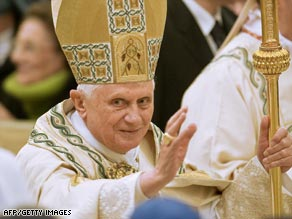 Pope Benedict XVI lifted the bishop's excommunication last weekend.