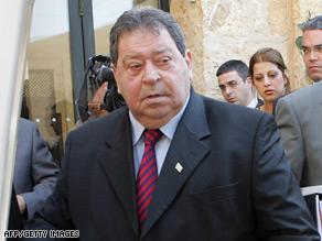 The case names former Israeli Defense Minister Benjamin Ben-Eliezer and six other Israelis.
