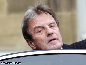 Kouchner insists he has done nothing wrong.