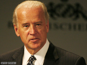 Vice President Biden is in Munich at a security conference.