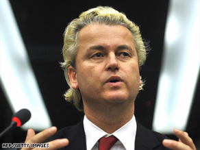 Dutch authorities filed charges against Wilders last month, accusing him of inciting racial hatred.