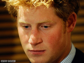 Prince Harry's behavior landed him on the front pages of British newspapers.