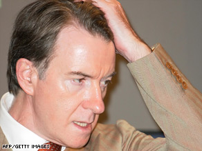 """Deen: """"The only thing green about Peter Mandelson is the slime coursing through his veins."""""""