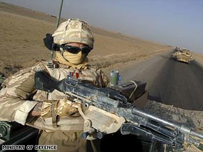 Britain currently has 8,300 troops in Afghanistan.