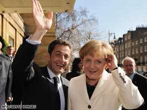 President Nicolas Sarkozy and Angela Merkel say financial regulation is not open to negotiation.