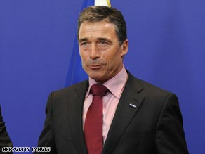 Rasmussen's possible candidacy for the NATO top job has prompted Turkish protests.