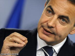 Spanish Prime Minister Jose Luis Rodriguez Zapatero has reshuffled his cabinet.