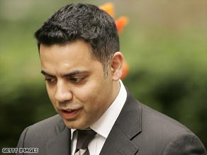 "British justice minister Shahid Malik says some of the allegations made by The Telegraph are  ""complete fabrications."""