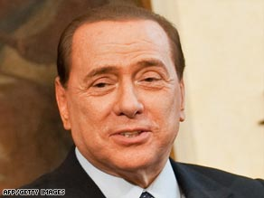 Italian Prime Minister Silvio Berlusconi says newspapers have invented his supposed gaffes.
