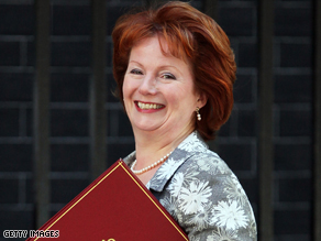 Hazel Blears has held her communities secretary post since 2007.