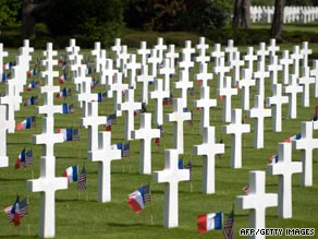 Thousands of allied troops lost their lives in the D-Day landings of June 1944.