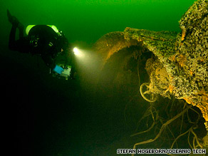 A team of Swedish and Finnish divers had been searching for the Soviet submarine S-2 since 1999.