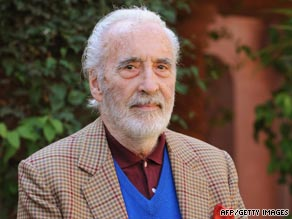 "Christopher Lee is famous for playing Count Dracula and his roles in ""Lord of the Rings"" and ""Star Wars"" films."