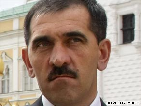 Yunus-Bek Yevkurov, Ingushetia's president, has survived an assassination attempt.