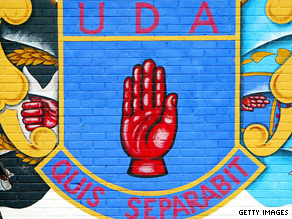 The Ulster Defense Association also said it was decommissioning its weapons.