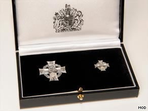 The Elizabeth Cross may be given to family members of service personnel who have died since 1948.