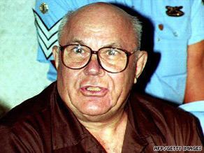 File image of John Demjanjuk during his trial in an Israeli court in 1993
